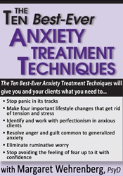 Image of The Ten Best-Ever Anxiety Treatment Techniques