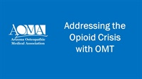 Image of Addressing the Opioid Crisis with OMT