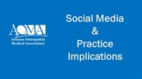 Image of Social Media & Practice Implications