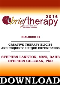 Image of BT16 Dialogue 1 - Creative Therapy Elicits and Requires Unique Experie