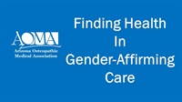 Image of Finding Health in Gender-Affirming Care