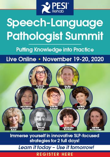Speech-Language Pathologists Summit – Putting Knowledge into Practice