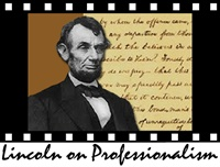 Lincoln on Professionalism 1