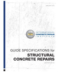 Image of 110.1-2016 (PDF) - Guide Specifications for Structural Concrete Repair