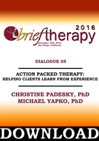 Image of BT16 Dialogue 5 - Action Packed Therapy: Helping Clients Learn from Ex