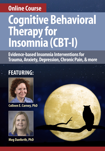 Cognitive Behavioral Therapy for Insomnia (CBT-I) Online Course