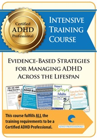 Image of Certified ADHD Professional (ADHD-CCSP) Intensive Training Course: Evi