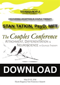 Image of CC16 Workshop 02 - Uncovering Deception In Couple Therapy - Stan Tatki