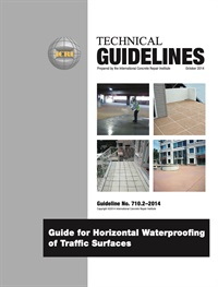 Image of 710.2-2014 - Horizontal Waterproofing of Traffic Surfaces
