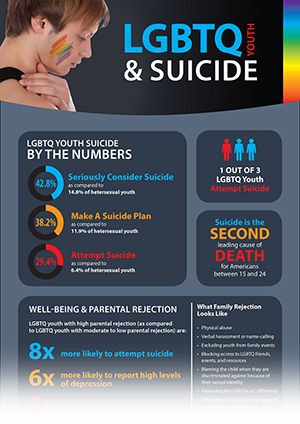 LGBTQ Youth Infographic