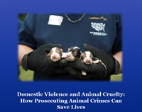 Domestic Violence and Animal Cruelty: How Prosecuting Animal Abuse Can Save Lives 2