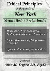 Image of Ethical Principles in the Practice of New York Mental Health Professio