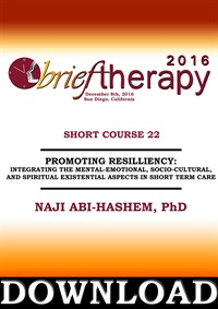Image of BT16 Short Course 22 - Promoting Resiliency: integrating the Mental-Em