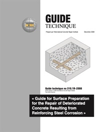 Image of 310.1R-2008 (French PDF) - Guideline for Surface Preparation for the R