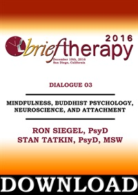 Image of BT16 Dialogue 3 - Mindfulness, Buddhist Psychology, Neuroscience, and