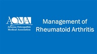 Image of Management of Rheumatoid Arthritis