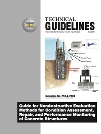 Image of 210.4-2009 (PDF) - Guide for Nondestructive Evaluation Methods for Con