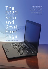 Image of The 2020 Solo and Small Firm Legal Technology Guide 13th Edition (e-bo