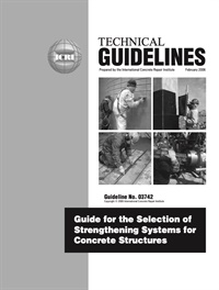 Image of 330.1-2006 - Guideline for the Selection of Strengthening Systems for