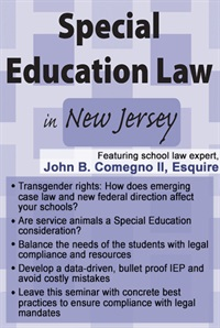 Image of Special Education Law in New Jersey