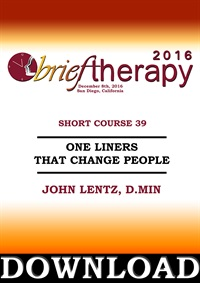 Image of BT16 Short Course 39 - One Liners That Change People - John Lentz, D.