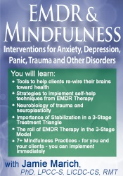 Image of EMDR & Mindfulness: Interventions for Anxiety, Depression, Panic, Trau