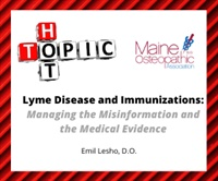 Image of Hot Topics--Lyme Disease and Immunizations: Managing the Misinformatio