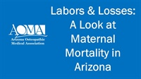 Image of Labors and Losses: A Look at Maternal Mortality in Arizona