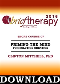 Image of BT16 Short Course 7 - Priming the Mind For Solution Creation - Clifton