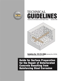 Image of 310.1R-2008 (English PDF) - Guideline for Surface Preparation for the