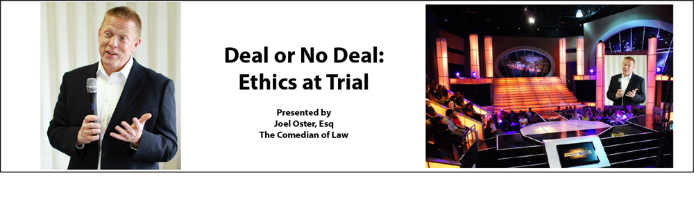 Deal or No Deal-Episode 1: Ethics on Trial
