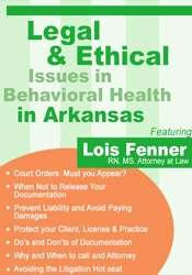 Image of Legal and Ethical Issues in Behavioral Health in Arkansas
