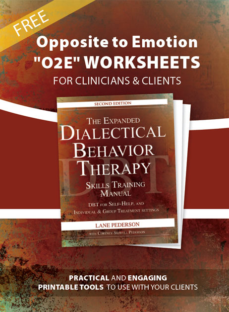 Free DBT Worksheets - Enter Your Email Address Below