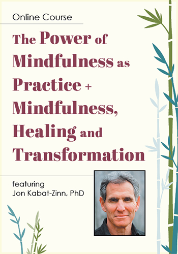 Jon Kabat-Zinn's The Power of Mindfulness as Practice