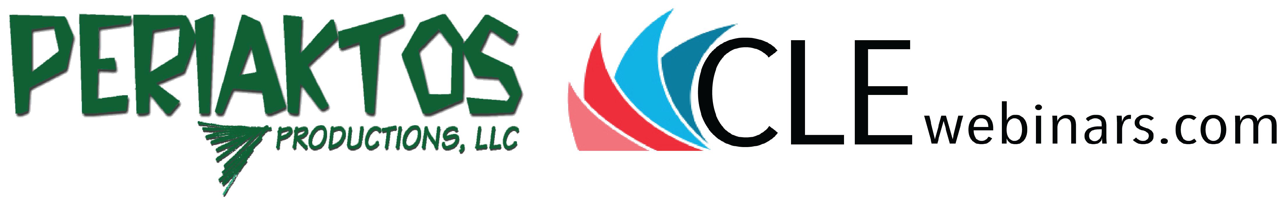 Periaktos CLE Webinars logo