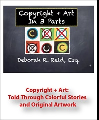 Image of Copyright + Art: Told Through Colorful Stories and Original Artwork