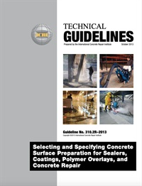 Image of 310.2R-2013 (English PDF) - Selecting and Specifying Concrete Surface