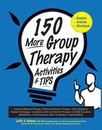 Image of 150 More Group Therapy Activities & TIPS