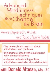 Image of Advanced Mindfulness Techniques that Change the Brain: Rewire Depressi
