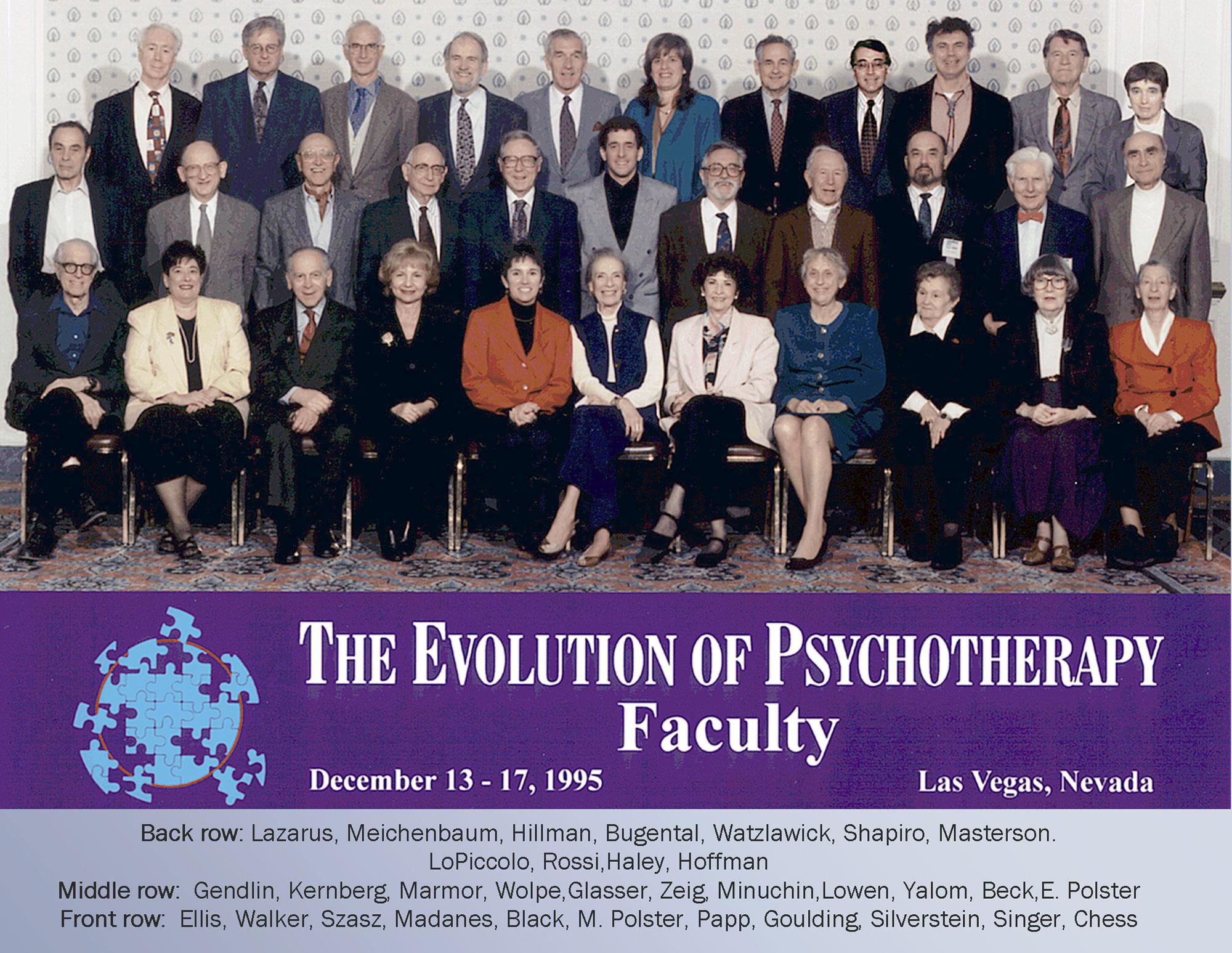 Evolution 1995 Faculty Group Photo