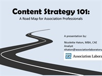 Image of Content Strategy 101