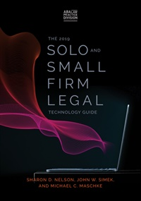 The 2020 Solo and Small Firm Legal Technology Guide 13th Edition (e-book) 1