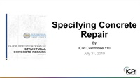 Image of Specifying Concrete Repair