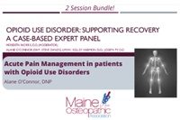 Image of Substance Use Disorder Bundle: Acute Pain Management in Patients with
