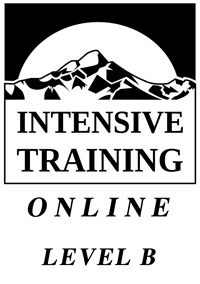 Image of Intensive Training Online - Level B - January 2021