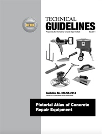 Image of 320.5R-2014 (English PDF) - Pictorial Atlas of Concrete Repair Equipme