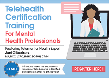 Telehealth Certification Training for Mental Health Professionals
