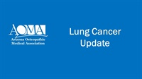 Image of Lung Cancer Update
