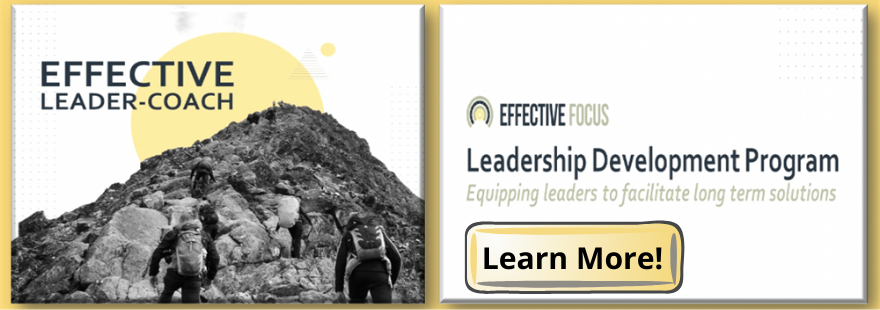 Effective LEADER-COACH Certification Course