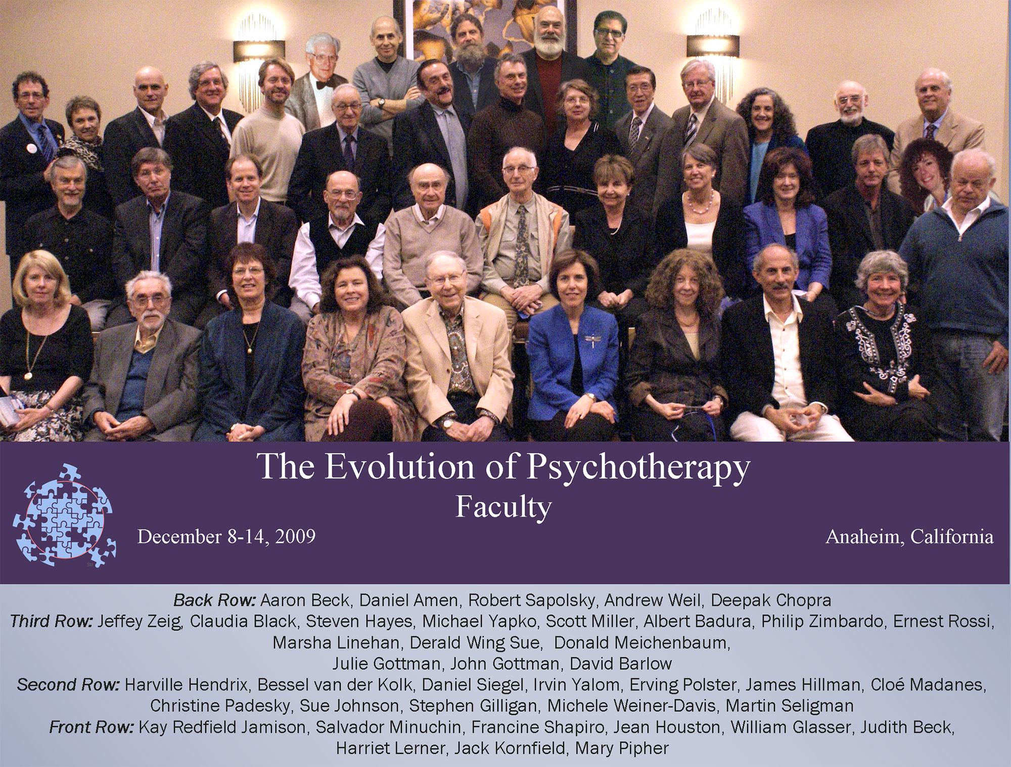 Evolution 2009 Faculty Group Photo